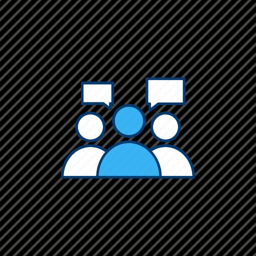 community, forum, group, partnership icon