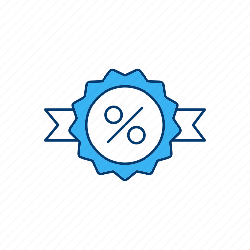 abatement, discount, rebate, reduction icon