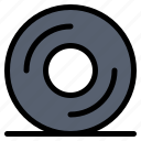 cd, disk, dvd icon