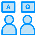 answers, education, online, qa icon