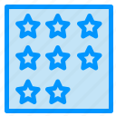 achievement, business, office, rank, star icon