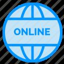 business, online, website, world icon