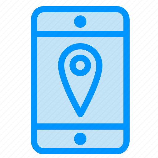 cell, location, mobile icon