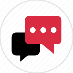 chat, comment, comments, conversation, section, talking icon