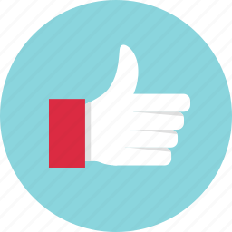 approved, facebook, like, thumbs, up icon