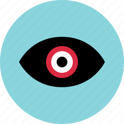 analytics, channel, data, eye, look, views icon