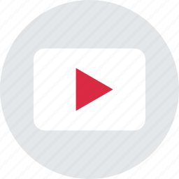 music, now, play, vid, video, youtube icon