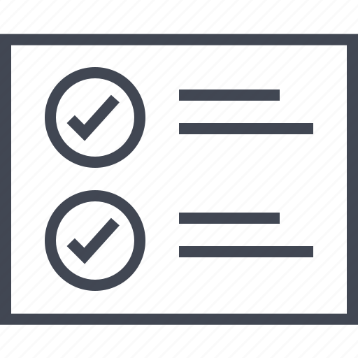 check, circle, mark, two, wireframe icon