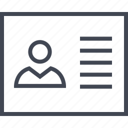coumn, one, profile, staff, wireframe icon