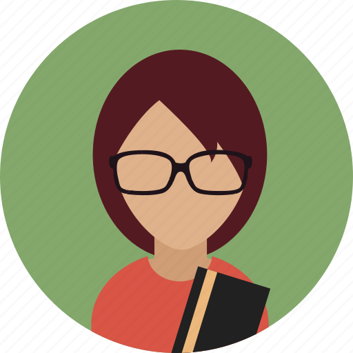 Avatar, bookworm, female, reading, woman icon - Download on Iconfinder