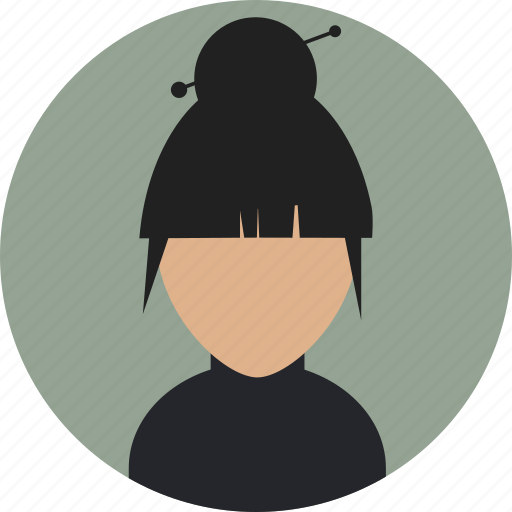Fashionista, female, haircut, trendsetter icon - Download on Iconfinder