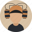 avatar, basketball, fan, foodball, game, male, sports icon
