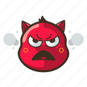 angry, cat, cute, emoji, emoticon, expression, pouting