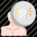dentist, healthcare, medical, molar, premolar, teeth icon