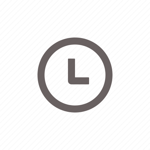 clock, time, timepiece icon