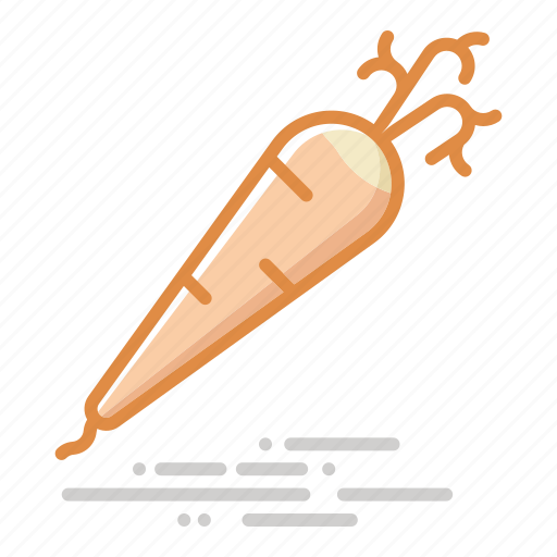 carrot, food, groceries, healthy eating, root, vegetable icon