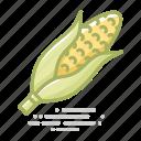 cob, corn, crop, food, groceries, vegetable icon