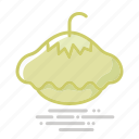 food, gourd, groceries, pattison, pattypan, squash, vegetable icon
