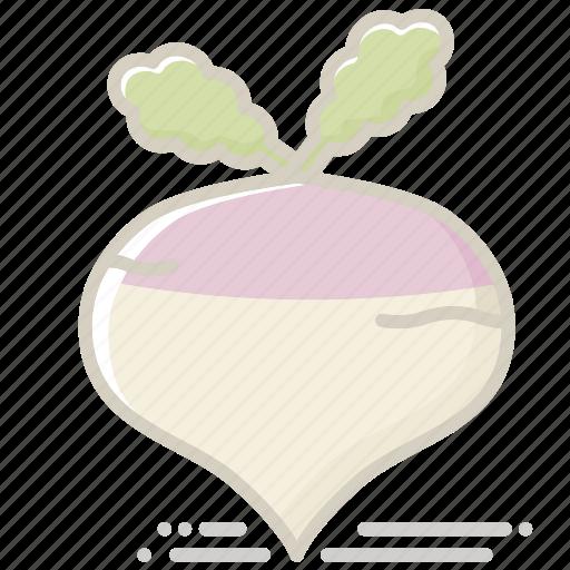 food, groceries, healthy eating, root vegetable, turnip, vegetable icon