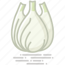 bulb, fennel, food, groceries, healthy eating, vegetable icon