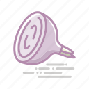 food, groceries, halved, onion, pink, vegetable icon