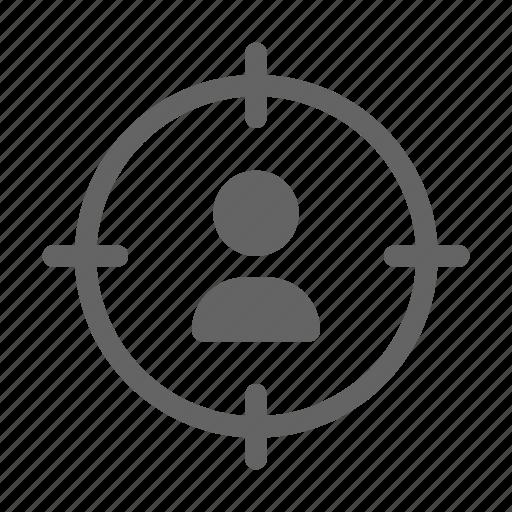 customer, recruitment, target, team icon