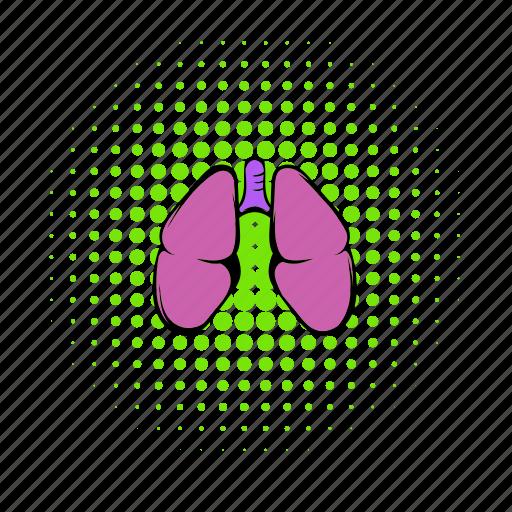 Anatomy, comics, health, human, lung, medical, organ icon - Download on Iconfinder