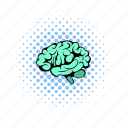 anatomy, brain, cerebellum, comics, health, human, science icon