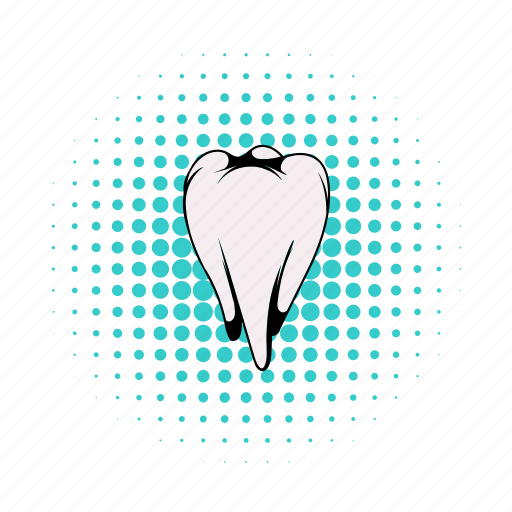 care, clean, comics, dental, dentist, medical, tooth icon