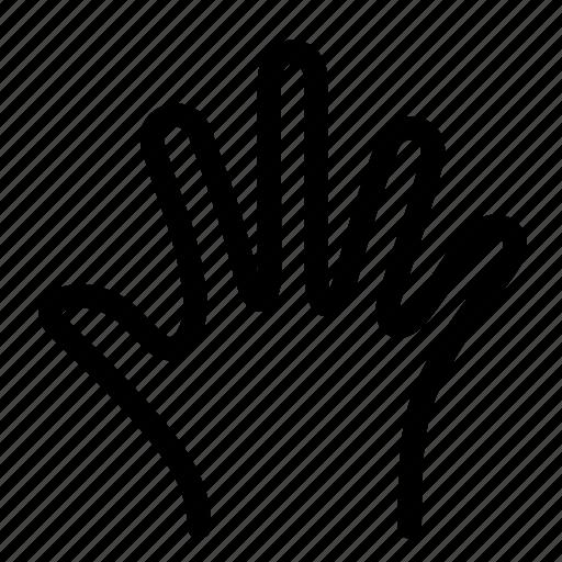 fingers, gestures, hand, orthopedics, stop icon