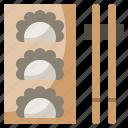 asian, food, gastronomy, gyoza, nutrition, oriental