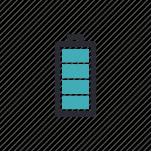 battery, charging, energy, full, status icon