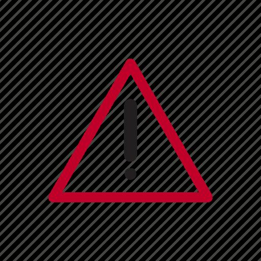 alarm, alert, danger, error, notification, problem icon