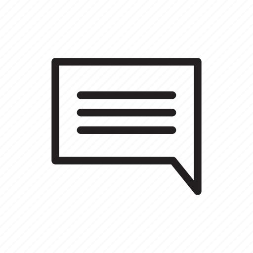 chat, comment, conversation, email, message, speech, talk icon