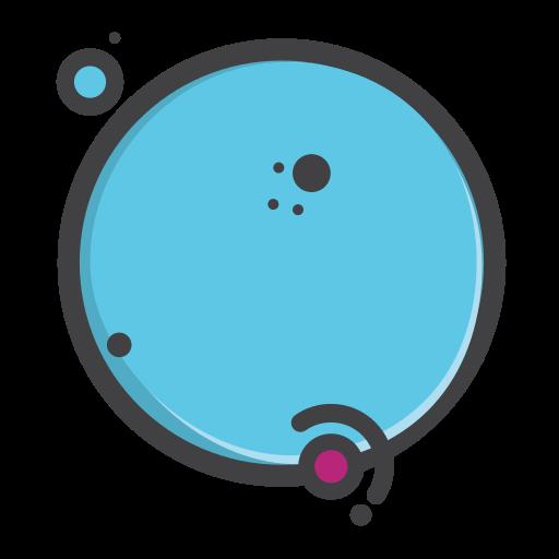 earth, planet, pluto, univearse, venues icon