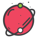 planet, space, telestial, univearse icon