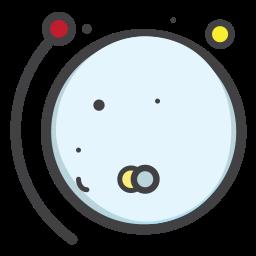 planet, pluto, space, telestial, univearse icon