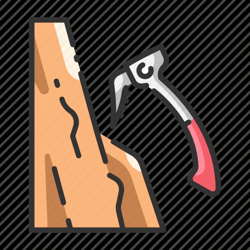 activity, cliff, climb, climbing, mountain, rock, sport icon