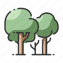 environment, foliage, forest, natural, nature, outdoor, scenery icon