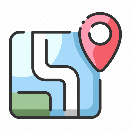 atlas, geography, location, map, plan, route, travel icon