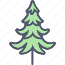 christmas, fir, green, holiday, nature, outdoor, tree icon
