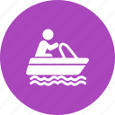boat, fishing, sail, sailing, sea, ship, travel icon