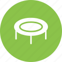 fun, jump, jumping, person, play, trampoline icon