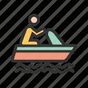 boat, fishing, sail, sailing, sea, ship, travel
