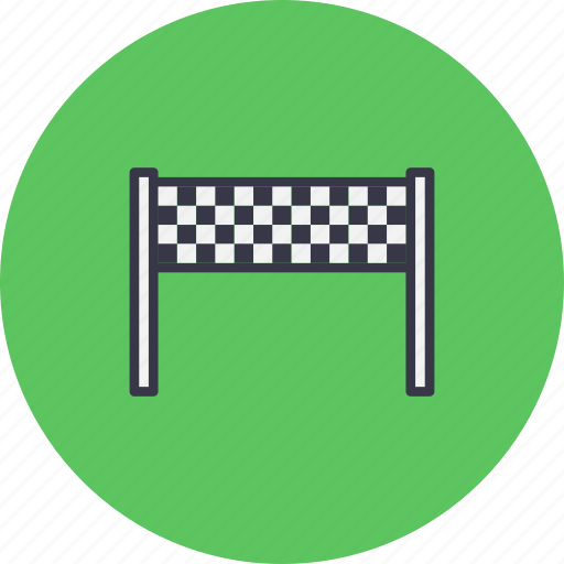 Bike, car, finish, finishline, race, racing, sports icon - Download on Iconfinder