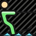 nautic, sports, water, skiing