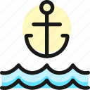 sailing, archor
