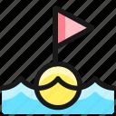 sailing, finish, line