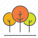 autum, fall, leaves, outdoor, season, trees icon