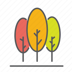 autum, calm, fall, leaves, outdoor, season, trees icon